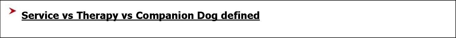 link - serv animal defined